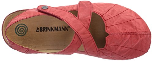 Dr. Brinkmann 710680, Mules femme Rouge - Rot (Rot)