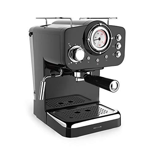 IKOHS THERA Retro - Cafetera Express para Espresso y Cappucino, 1100W,15 Bares,...