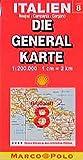 Die Generalkarten Italien, Bl.8, Neapel, Campania, Gargano (Die Generalkarte / Grossblatt 1:200000) - MARCO POLO GROSSBLATT IGB 08