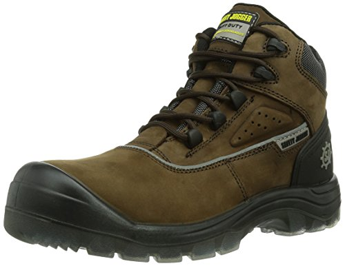 Safety Jogger Geos, Chaussures de sécurité mixte adulte Marron - Braun (Brown 858)