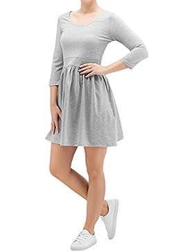 VERO MODA Damen Kleid Vmmaggie Skater Dress Jrs Boo