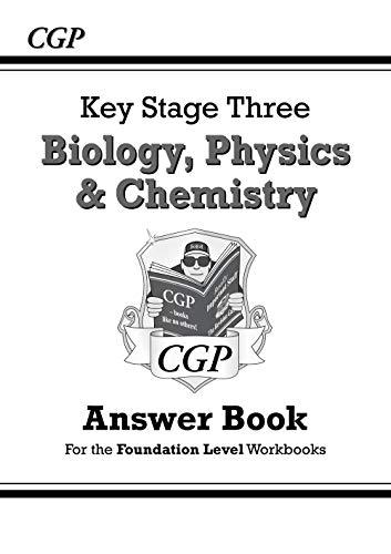 KS3 Science Answers for Workbooks (Bio/Chem/Phys) - Foundation