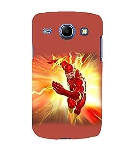 printtech Lightening Superhero Back Case Cover for Samsung Galaxy A3 / Samsung Galaxy A3 A300F
