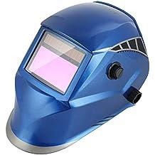 FIXKIT Careta para Soldar Casco de Soldadura Máscara para Soldar de Energía Solar de Oscurecimiento Automático