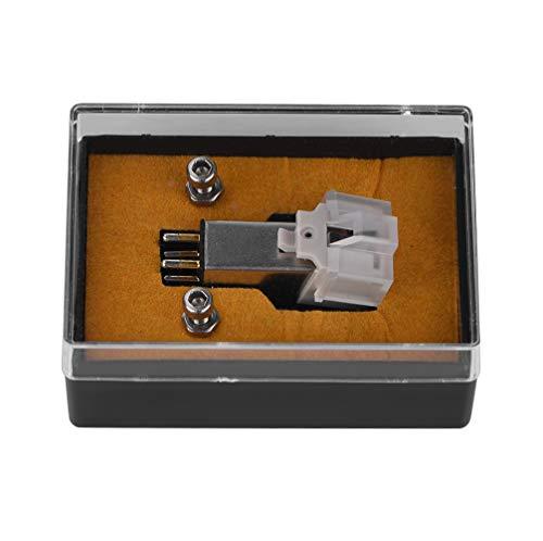 Diyeeni Magnetischer Tonabnehmerstift mit genauer Aufnahmefunktion, Plattenspielerzubehör Tonabnehmerstift für Schallplattenspieler