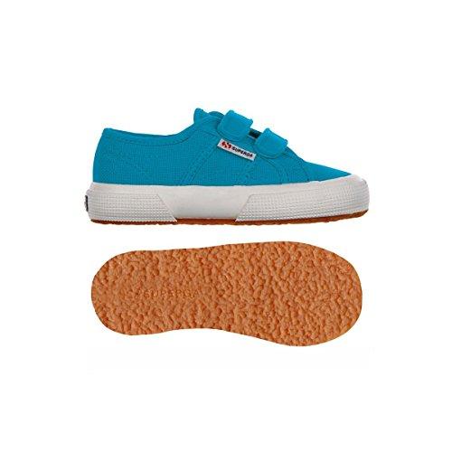 Superga 2750 Jvel Classic, Sneakers Basses mixte enfant Blue Caribe