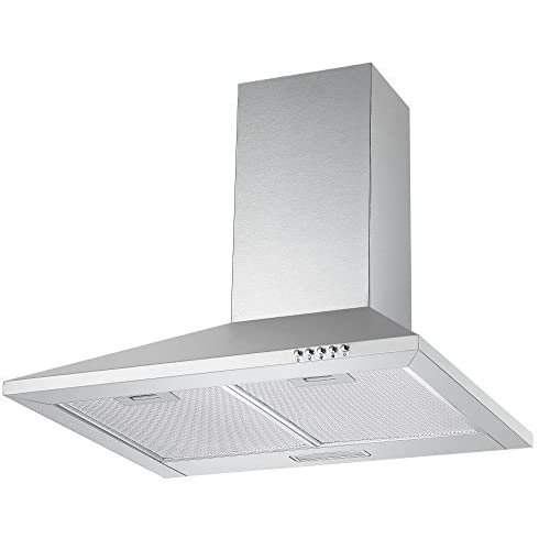 4147y5 5vBL. SS500  - Cookology CH600SS 60cm Chimney Cooker Hood in Stainless Steel | Extractor Fan