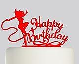 Best DC Wedding Cake Toppers - Wonderwoman Happy Birthday Cake Topper- Acrylic Cake Topper Review