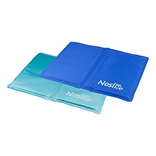 Nosli Kühlmatte Kühldecke Kühlkissen selbstkühlende Decke für Hunde / Sea blue L -
