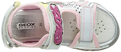 Geox J Android, Sandales Fille Multicolore (C1000)