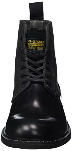 G-STAR RAW Frock, Bottes Motardes Homme Noir (Black 990)