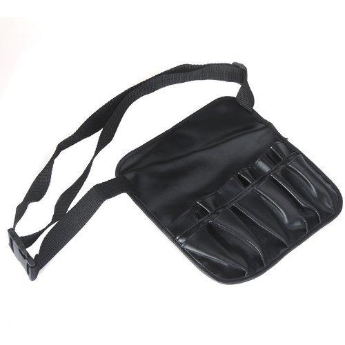 Make-up Artist Brush Belt (H-ONG PVC Cosmetic Makeup Travel Bag Brush Apron with Artist Belt Strap Professional Bag)