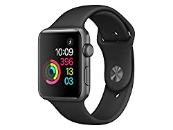 "Apple Mp062zda ""Watch 2"" Sportarmband 42mm, Aluminium Schwarz"