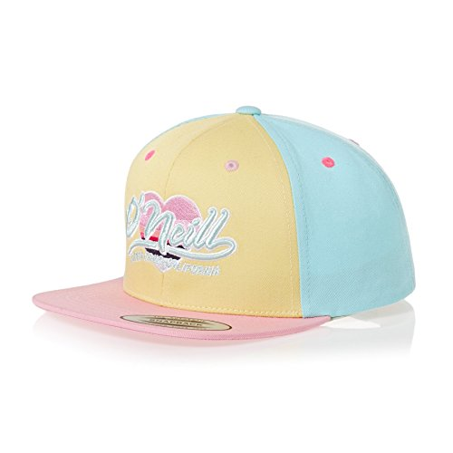 O'Neill Hats Kids by Stamped Snapback Cap - Yellow-Pink