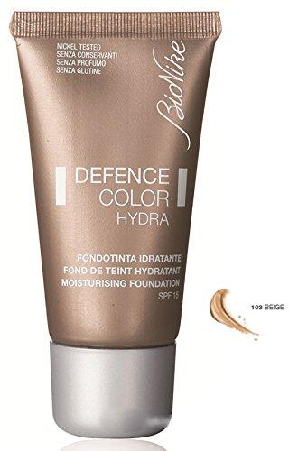 BioNike DEFENCE COLOR HYDRA Make-Up Fluid Foundation Farbton Nr. 103 beige (Farbton Hydra)