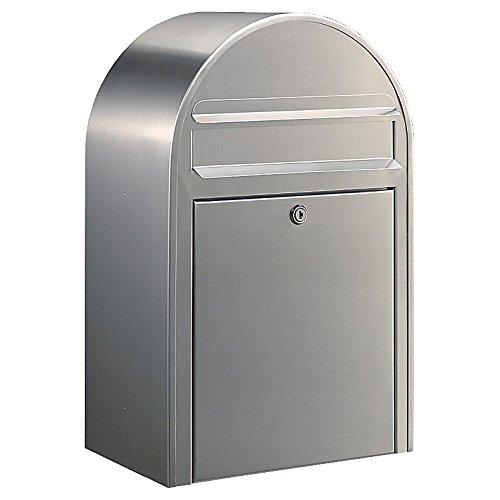 Bobi Classic Briefkasten Edelstahl (V2A) Wandbriefkasten