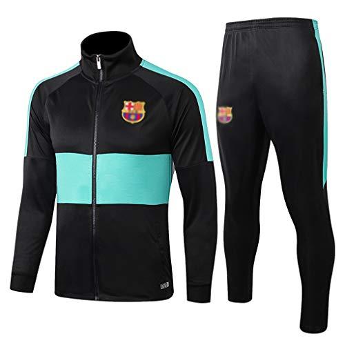 European Football Club Lang Kragen Sportfußballtraining Uniform dunkelgraue Jacke Sweatshirt (Verschiedene Größe Choices) -CMKA0571 (Color : Dark Gray, Size : XL)