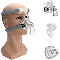 Qwhome NM2 Cara Completa Máscara Nasal con Casco para CPAP/Bi-Nivel Dormir Y Roncar Respirador,Cpapmasksm