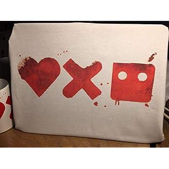 Love Death and Robots Liebe, Tod und Roboter Graffiti T-Shirt – Inspiriert von der Netflix-Serie