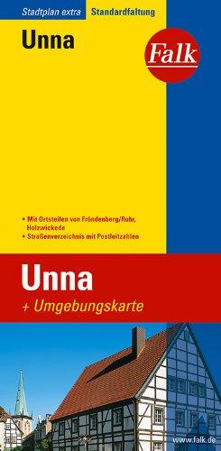 Falk Stadtplan Extra Standardfaltung Unna