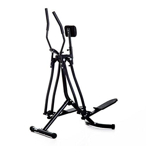 Homcom Vélo elliptique Vertical Support Abdomen air Walker Crosstrainer Ordinateur de Bord LCD...