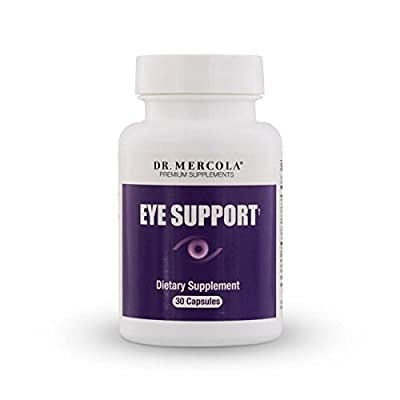 Dr Mercola Eye Support with Lutein (30 Capsules)