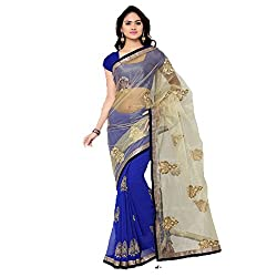 Muta Fashions Women's Cotton Silk Saree (MUTA232_19_Multi Colour_Free Size)