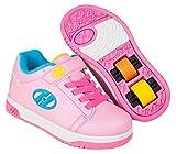 Heelys X2 Dual Up Schuhe rosa Mädchen Light Pink/Hot Pink/Neon Multi, 33