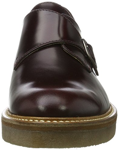 Kickers Oxform, Derbys Femme Rouge (bordeaux)