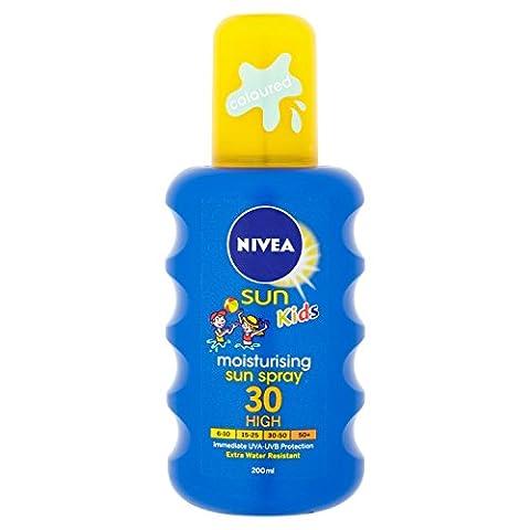 Nivea Sun Kids Moisturising Sun Spray High SPF 30 - 200 ml