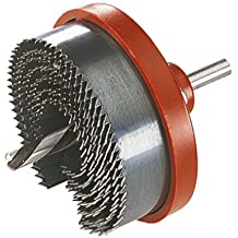Wolfcraft 2161000 - Sierra de corona estándar, para madera y yeso laminado Ø 25,32,38,45, 50,56,62 mm profundidad de corte de 18 mm