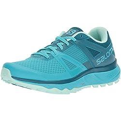 Salomon TRAILSTER W, Zapatillas de Trail Running para Mujer, Azul (Bluebird/Deep Lagoon/Beach Glass), 37 1/3 EU