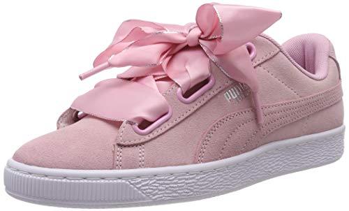 Puma Suede Heart Galaxy Wn's, Scarpe da Ginnastica Basse Donna, Rosa (Pale Pink Silver), 38.5 EU