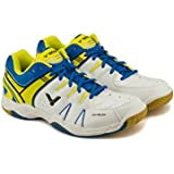 Victor All-Around Series SH-A610-AF Professional Badminton Shoe (White/Blue)