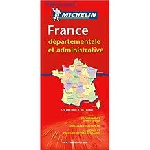 Carte routière : France Départementale et Administrative, N°11728