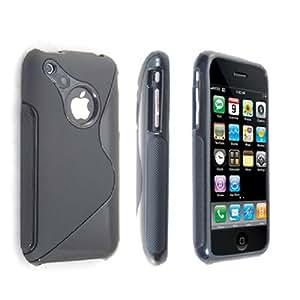 Neues Qualität Schwarz Silikon Gel Schutzhülle Für Apple Iphone 3G 3GS Mit Frei Displayschutz Von Yousave