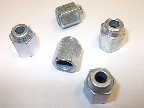 10 x femelle 3/16 de diamètre x 3/8 UNF Filetage de frein Extrémité de tuyau Écrou raccords Connecteurs