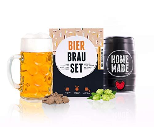 Brewbarrel Cadeau Homme Kit de Brassage Bière de...
