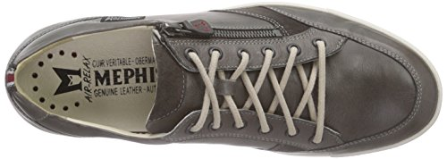 Mephisto Uggo Steve 2659/Velsport 3652 Graphite, Low-Top Sneaker homme gris (GRAPHITE)