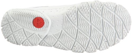 Timberland Wake FTP Slip On 58620, Scarpe da barca donna Bianco/Rosso
