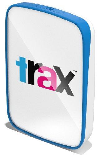Trax T13 GPS Tracker Localizzatore GPS per Animali Domestici e Bambini, Recinto Digitale, Tracker Multiplo, Mappa Reale e Virtuale, Trax Augmented Reality, GSM Prepagata per 2 Anni, Blu