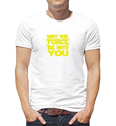 h You Darth Vader Star Wars Luke Skywalker Princess Leia Movie Herren Shirt Tshirt T-Shirt Men SM Man T-Shirt White ()