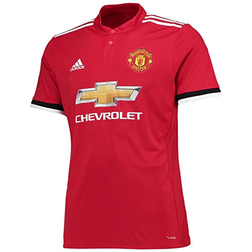adidas Boys' Manchester United Home Jersey