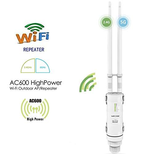 802.11 A/b/g Wireless Outdoor Bridge (Cordiality Outdoor 2,4 GHz / 5 GHz Dual Mode Stabiles Signal Wasserdichter WiFi-Repeater)