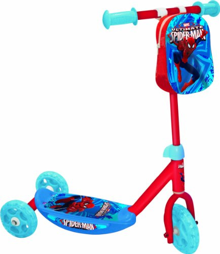 "Mondo 18320 - Spiderman Ultimate Monopattino Baby ""My First Scooter"", 3 Ruote"