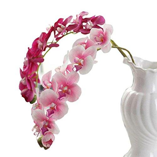 longra-wohnaccessoires-deko-kunstblumen-simulation-schmetterling-orchidee-phalaenopsis-zweig-hausgar