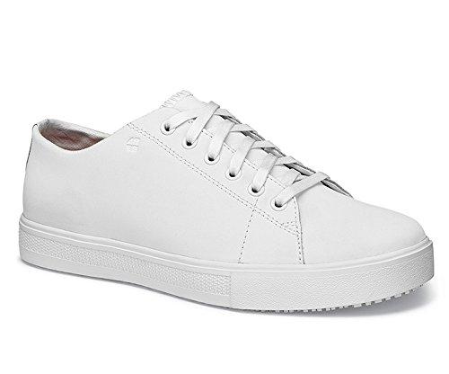 Iv-weiß Schuhe (Shoes for Crews 37280-37/4 OLD SCHOOL LOW-RIDER III Schuhe, Damen, Größe 4, Weiß)