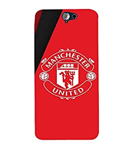 Takkloo Football club ( Sports, Men Sports, Women Sports, Symbol of football club, Red Background) Printed Designer Back Case Cover for HTC One A9