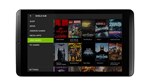 NVIDIA SHIELD 20,3 cm (8'') Tablette Tactile (2,2GHz, 2Go RAM, 16Go Speicher, WiFi, Android 4.4) Noir (Import Europe)