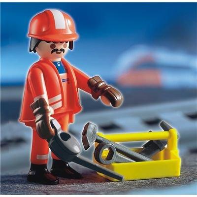 Playmobil 4640 Trabajadores Especiales Tren